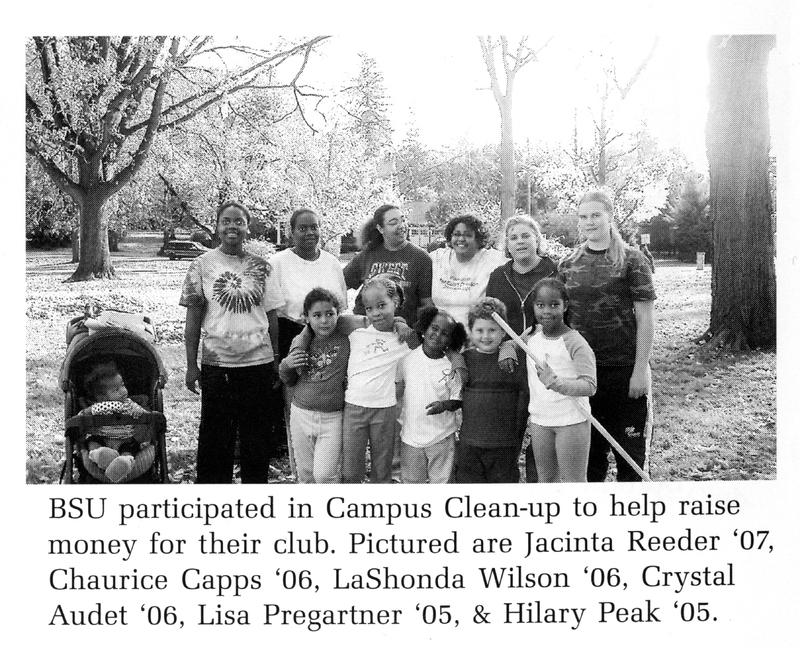 Campus clean-up