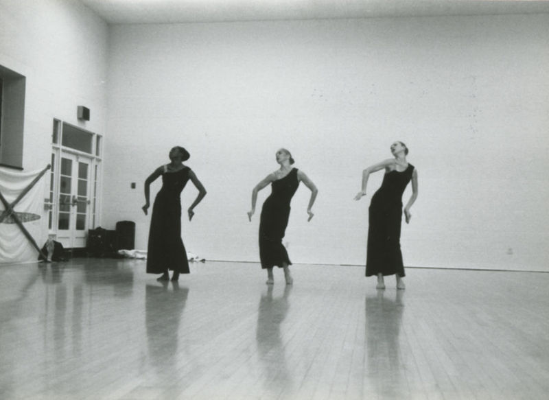 Trio dress rehearsal