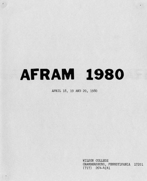 """""""Afram 1980"""""""