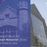 Rededication of JSM Library brochure