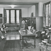 Library browsing room 1953-1954
