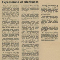 Afro-Am Sponsors Expressions of Blackness