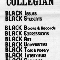 The black collegian advertisement