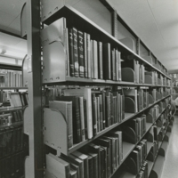 Library stacks 1987