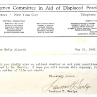 Emergency Committee in Aid Displaced Foreign Scholars