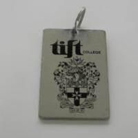 Tift College keychain