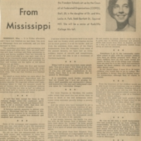 """A Report from Mississippi"""