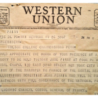 Western Union Telegram (2)