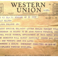 Western Union Message
