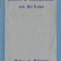 Order of Fifinella Articles of Incorporation and By-laws