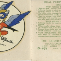 Order of Fifinella decal and application instructions