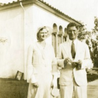 Paul and Lorrain Havens at Scripps College