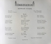 Wilson College Suffrage League