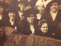 Pennsylvania Woman Suffrage Association meeting in Scranton