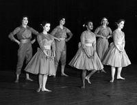 Six-piece dance production